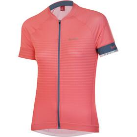 Löffler hotBOND Full-Zip Bike Jersey Women, rood